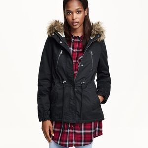 H&M Sherpa Lined Parka